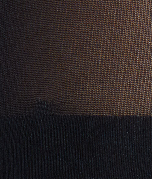 Stay-up kousen in microfibertricot 6D