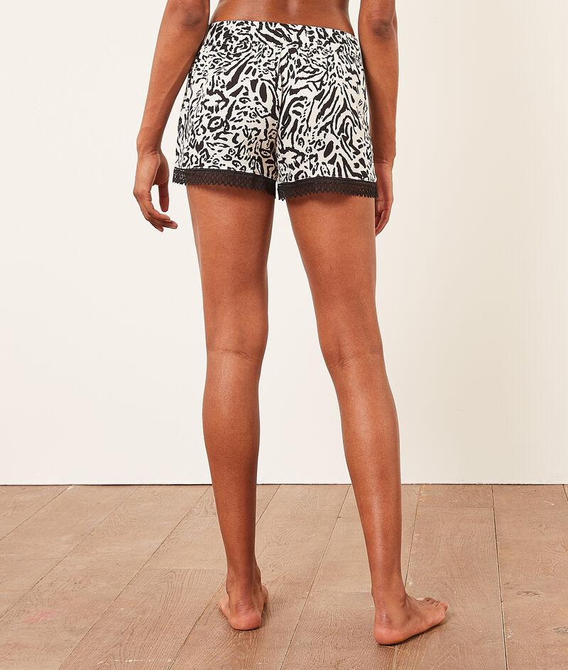 Pyjamashorts met print;${refinementColor}