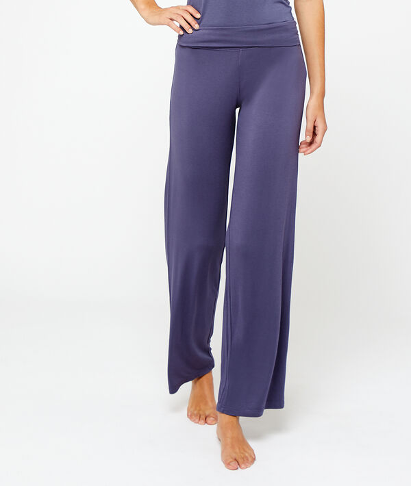 Broek in viscose;${refinementColor}
