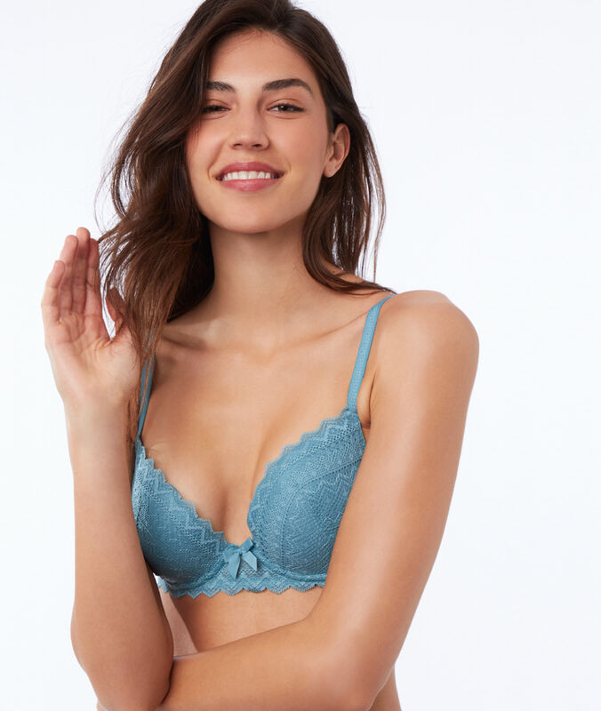 Soutien-gorge n°1 - magic up bleu.