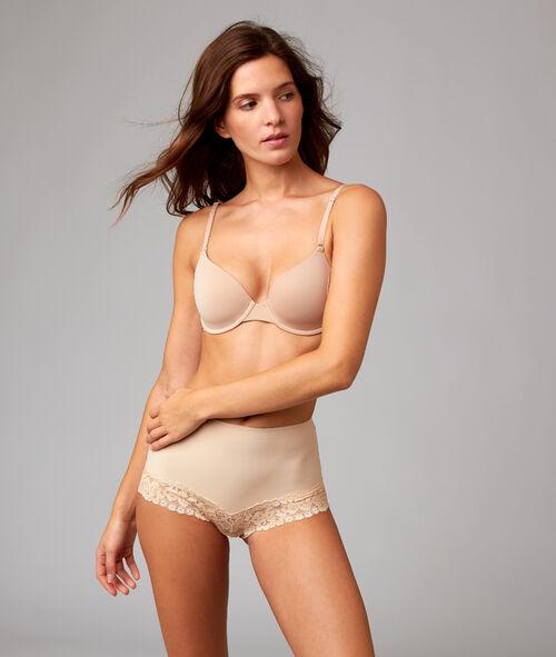 Culotte taille haute dentelle – niveau 1 : silhouette sculptée Etam Etam Culottes & bas > LES FORMES > Culottes taille haute