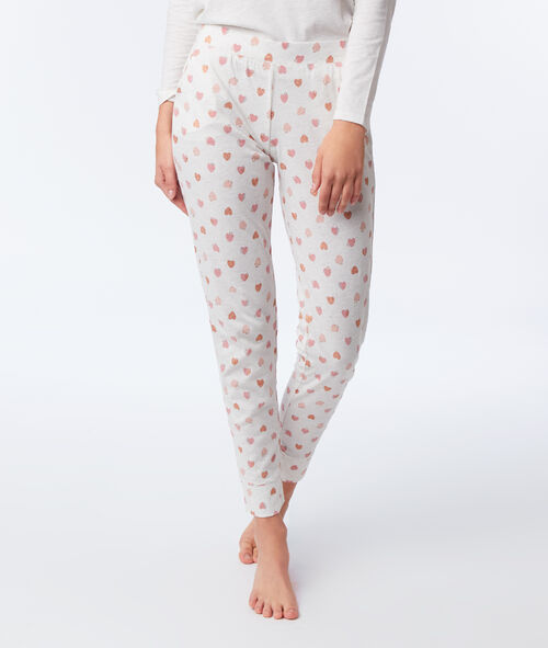 "Pyjama trois pièces ""love"""