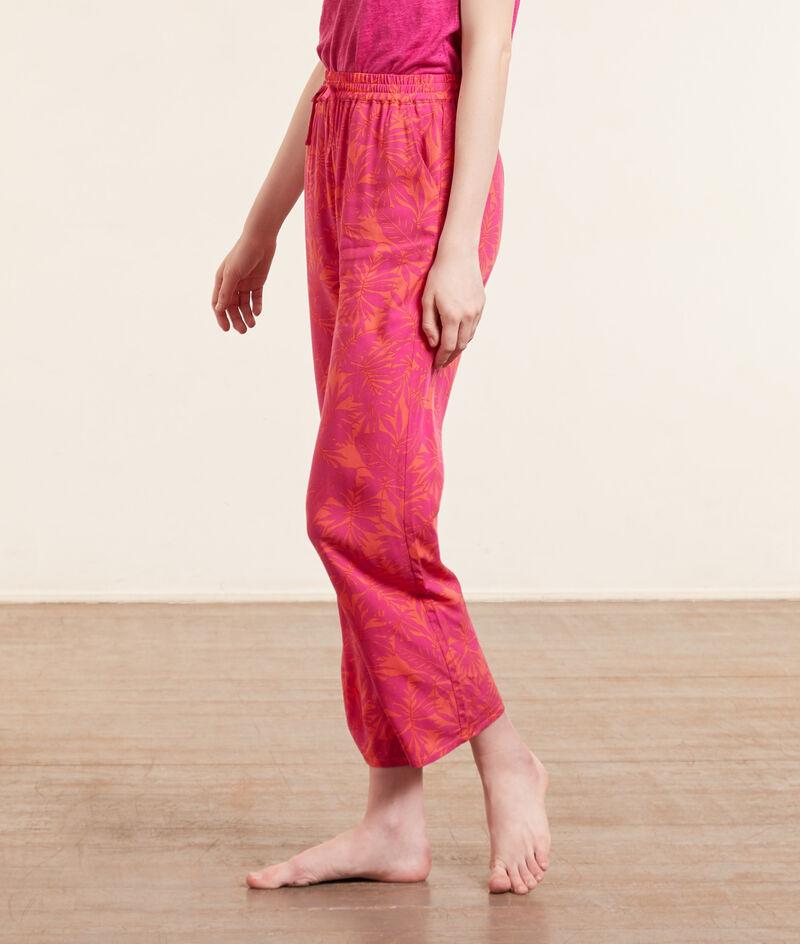 Pyjamabroek capri 7/8, met print;${refinementColor}