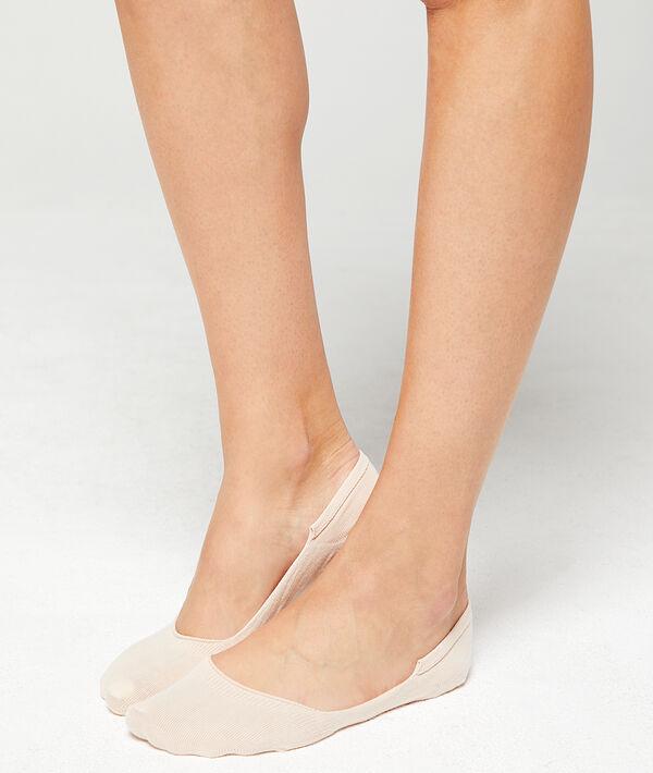 2 paar onzichtbare sokjes
