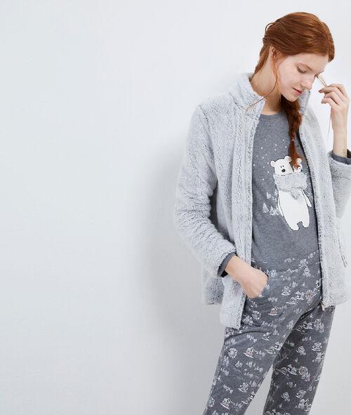 Pyjama trois pièces nounours Etam Etam SOLDES - Prix minis et Bonnes Affaires sur Etam.com > Soldes Nuit