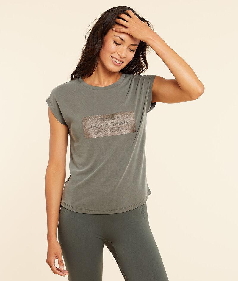 T-shirt met korte mouwen;${refinementColor}