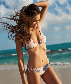 Bas de bikini brésilien - high leg multicolore.