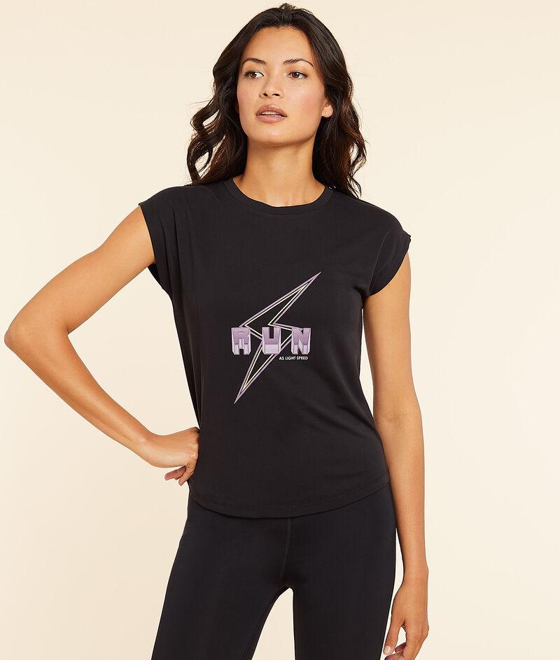 T-shirt met korte mouwen 'Run';${refinementColor}