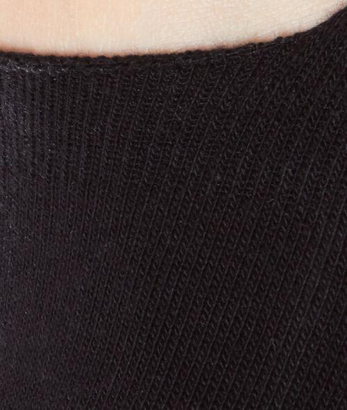 2 paires de socquettes invisibles