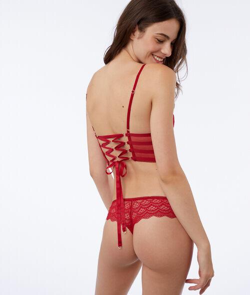 Triangle dos corset