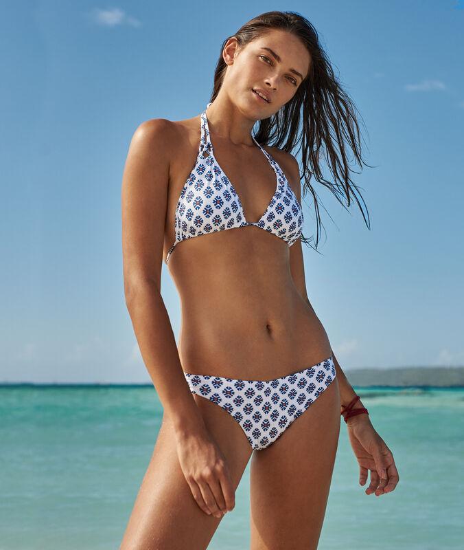 Eenvoudig bikinibroekje wit.