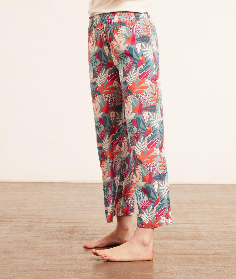 Pyjamabroek met print;${refinementColor}