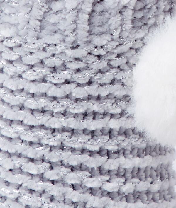 Chausettes homewear à pompon;${refinementColor}