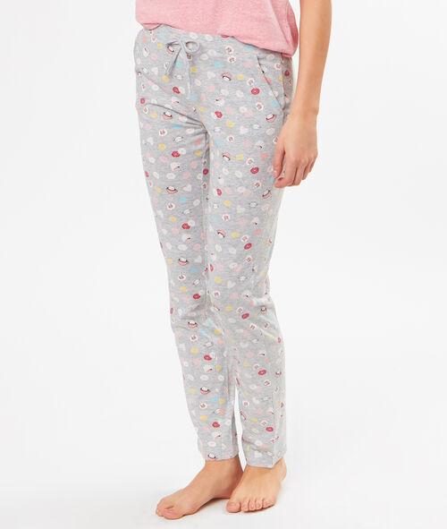Pantalon imprimé Etam Etam OUTLET > OUTLET > Nuit > Bas de pyjama