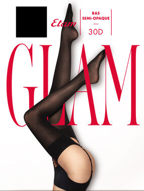 Bas glam noir.