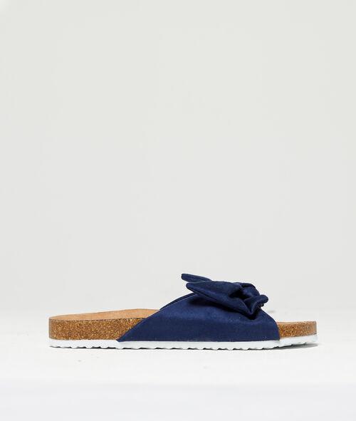 Sandales détail noeud Etam Etam Maillots de Bain > BEACHWEAR > Sandales et tongs