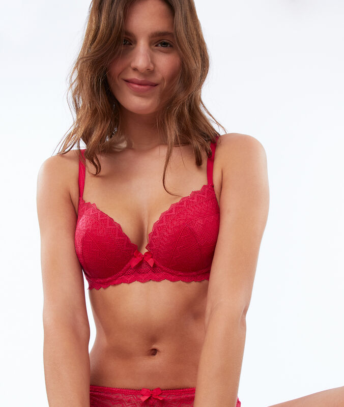 Soutien-gorge n°1 - magic up fushia.