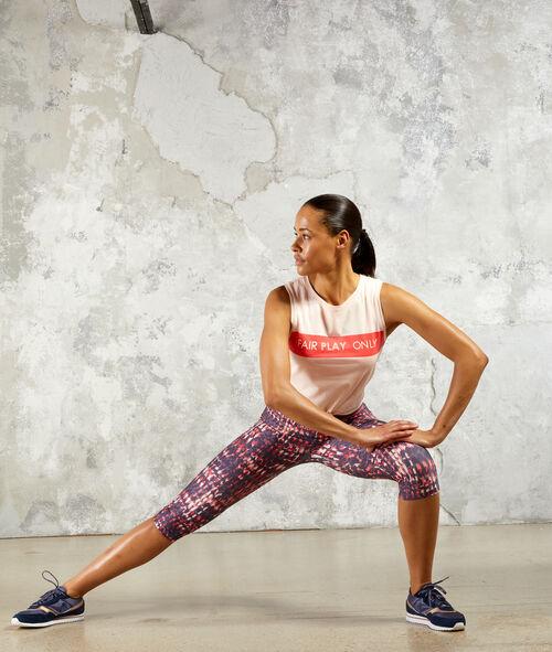 Crop-top de training 100% coton Etam Etam SPORT > LES MODELES > Tops, T-shirts & Sweats