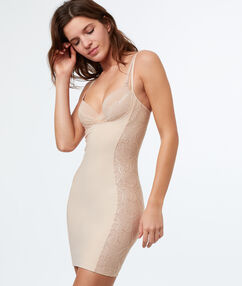 Shaping jurk nude.