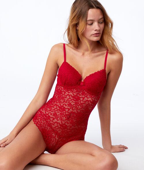 Body à coques en dentelle Etam Etam Soutiens-gorge > LES BODYS > Les Bodys sexy