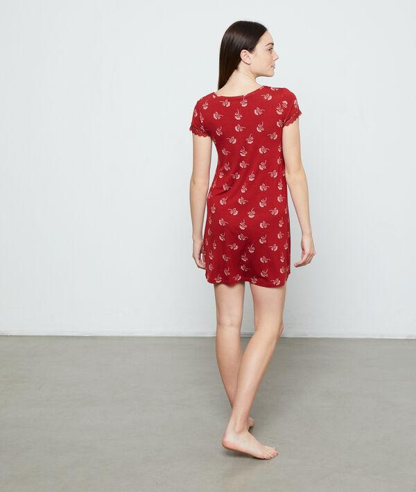 Nachthemd met print;${refinementColor}