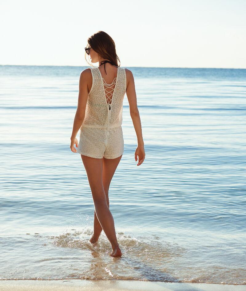 Combi-short de plage, laçages;${refinementColor}