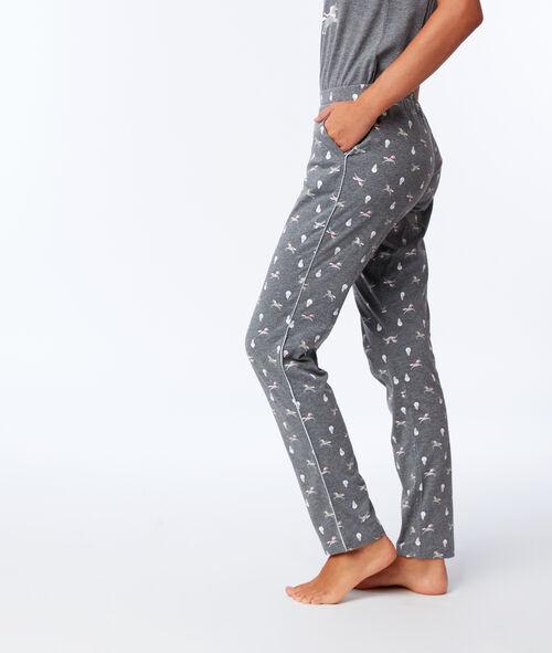 Pantalon imprimé licornes