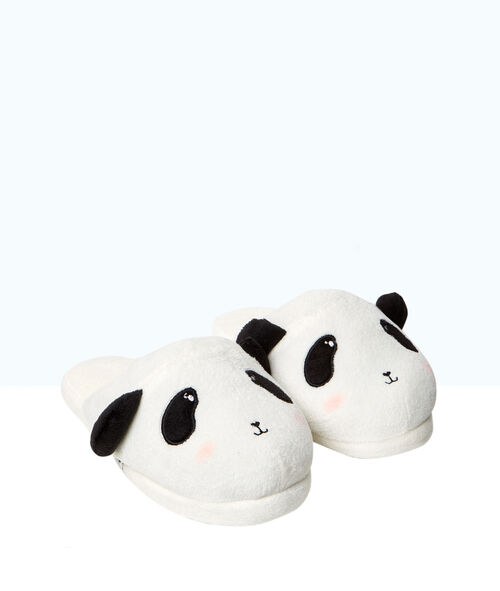 Aansteekpantoffels 3D, pandaprint