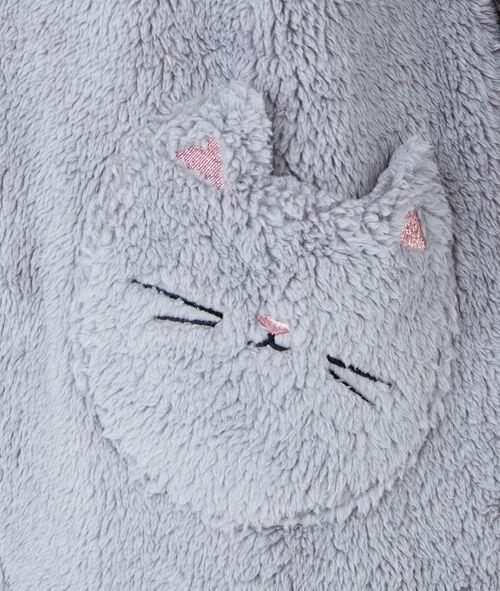 Combinaison doudou, oreilles de chat