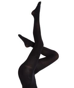 Panty 6d ondoorschijnend, modellerend effect voor de billen noir.