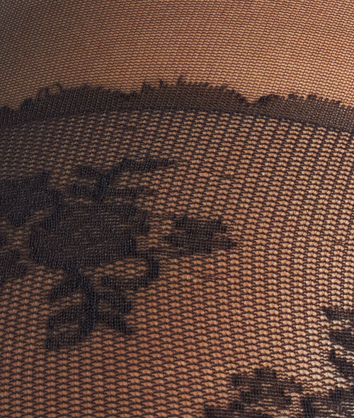 Modellerende panty platte buik 15D