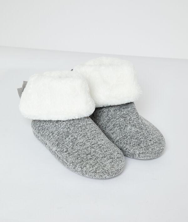 Gevoerde enkellaarzen sokken;${refinementColor}