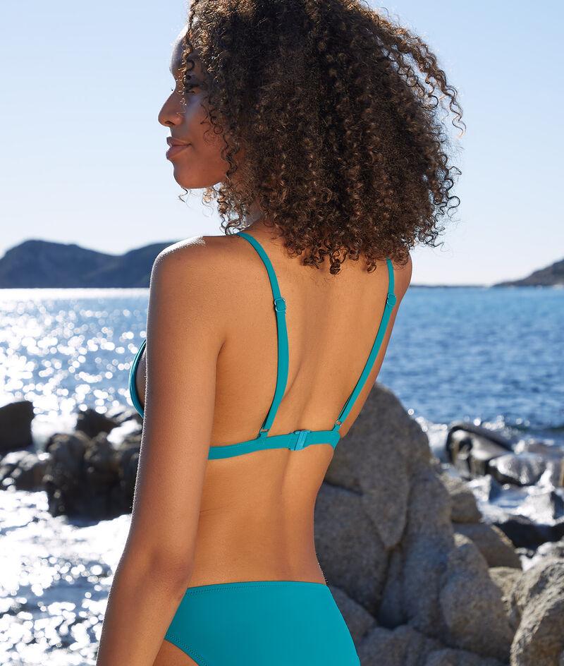Bikinitopje, triangel met bandjes, zonder beugels;${refinementColor}