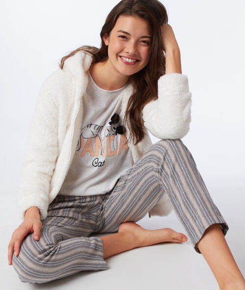 Pyjama 3 pièces panda cat Etam Etam Nuit > MODÈLES > Pyjamas 3 pièces > Pyjamas 3 pièces