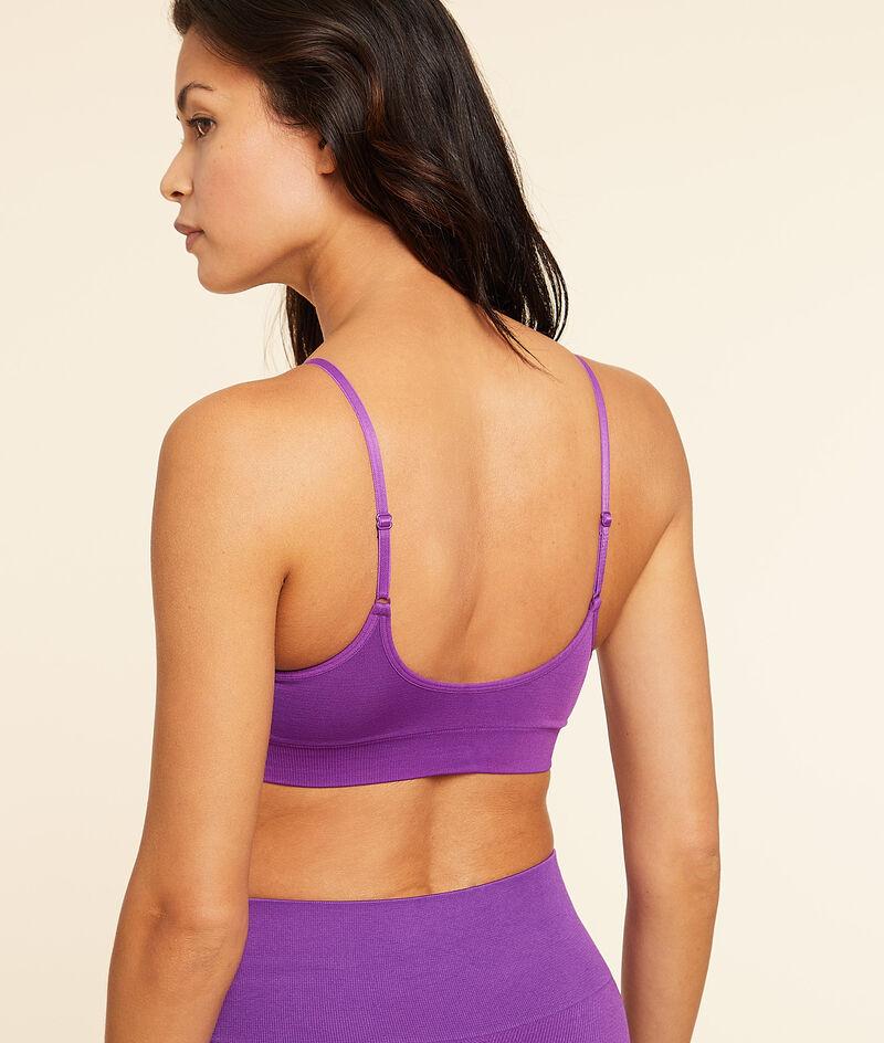 Yoga bralette - gemiddelde ondersteuning;${refinementColor}