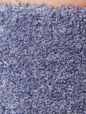 Chaussettes unies gris.