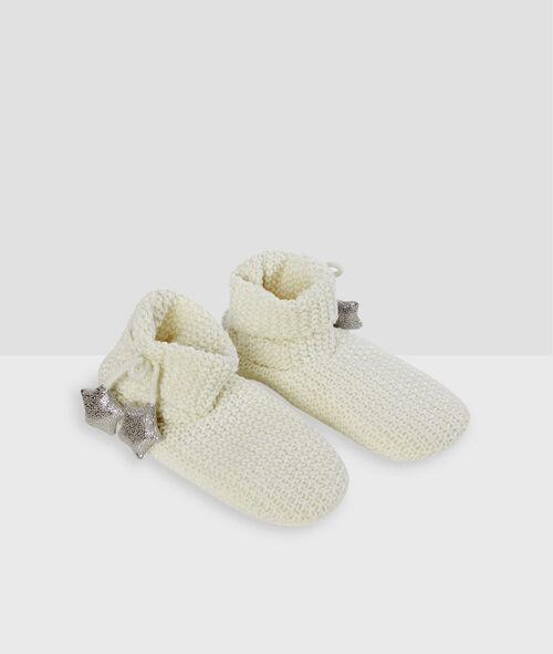 Chaussettes à fils métallisés Etam Etam Nuit > ACCESSOIRES > Chaussons > Chaussettes Homewear
