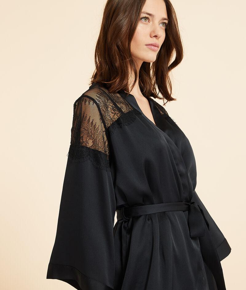 Satijnen kimono, kanten details;${refinementColor}