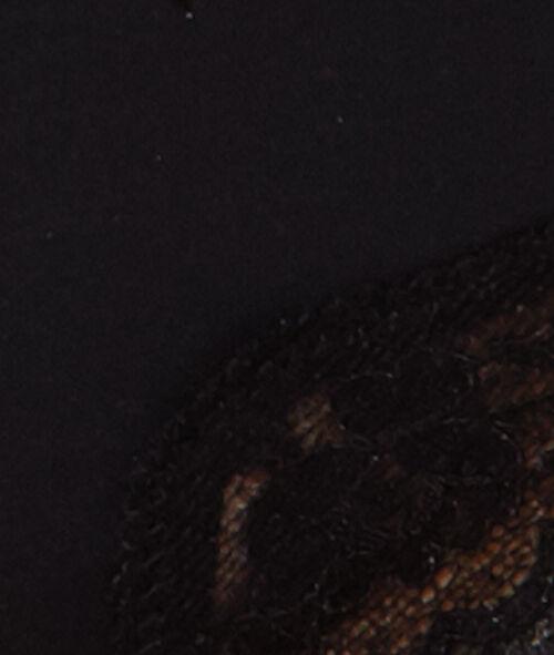 Tanga microvezel en kant