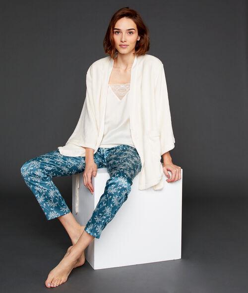 Pyjama 3 pièces imprimé fleuri Etam Etam SOLDES - Prix minis et Bonnes Affaires sur Etam.com > Soldes Nuit