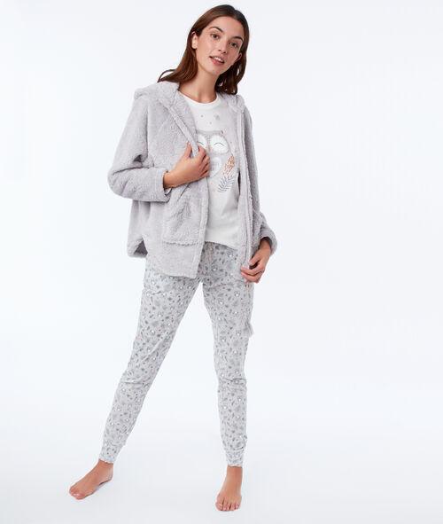 Pyjama trois pièces hibou Etam Etam SOLDES - Prix minis et Bonnes Affaires sur Etam.com > Soldes Nuit