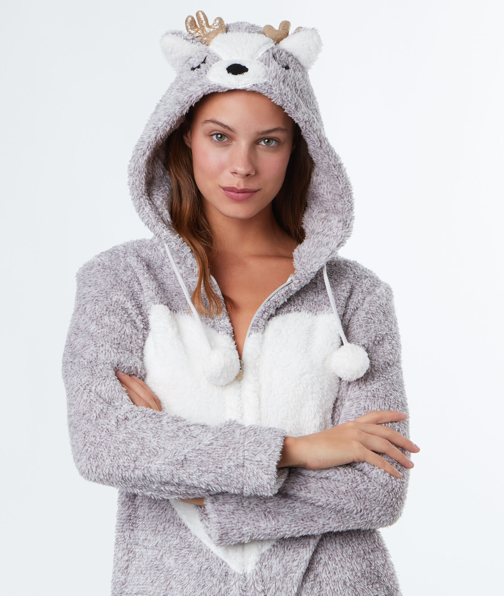 en soldes 9ad3f fa9d8 Cerf Gris Pyjama Combinaison Etam Agrippine Mvn8wo0n wOXkZPiuT