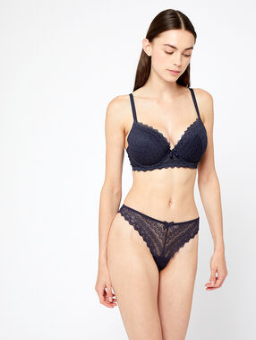 Soutien-gorge n°1 - magic up anthracite.