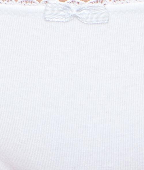 Culotte en coton majoritaire
