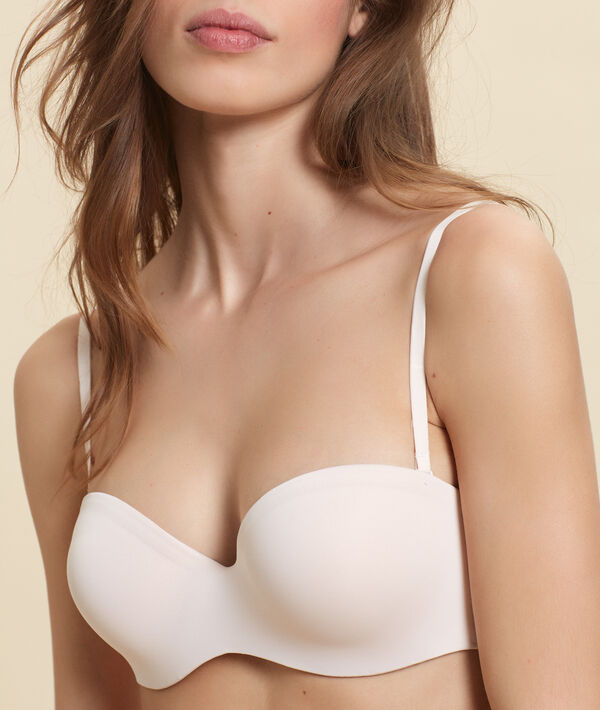 Bandeau push-up, bretelles amovibles bonnet B;${refinementColor}