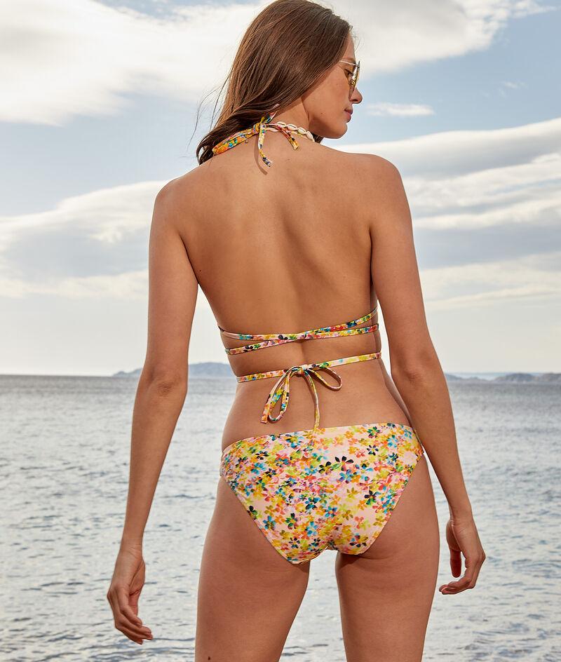 Bikinitopje triangel, multi-bandjes, zonder beugels;${refinementColor}