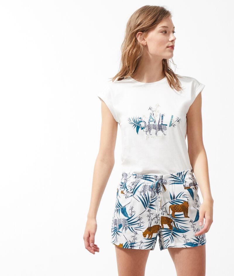 Shorts met print;${refinementColor}