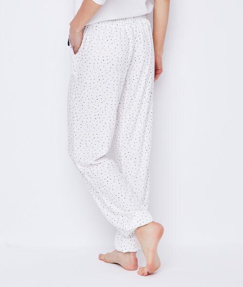 Driedelige pyjama, zachte vest