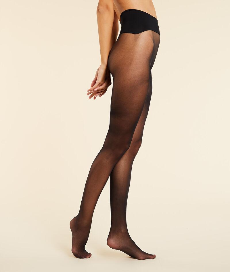 Must-have halfdoorzichtige panty - 30d;${refinementColor}