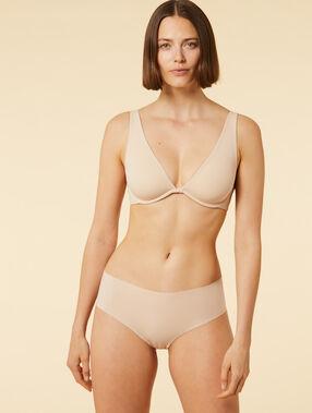 Hipster microvezel, laseruitsnijding nude.